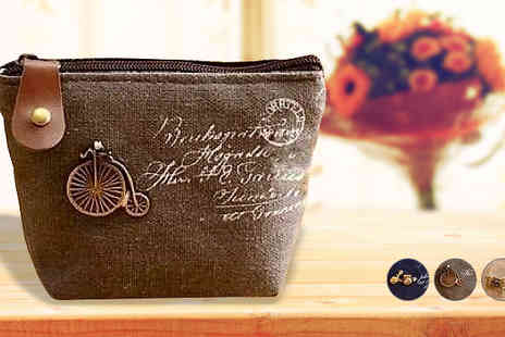The London Touch - Canvas Coin Purse - Save 84%