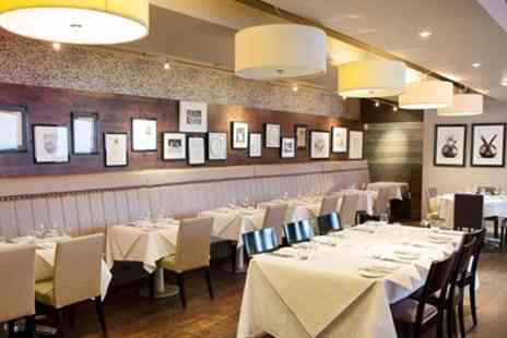 Heathcotes Brasserie - Five Course Meal for Two - Save 51%