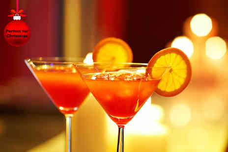 The Waldorf Hilton - One hour cocktail masterclass for Two including two cocktails each plus a 2 course dinner  - Save 50%
