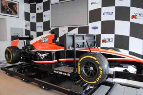 Lets Race - Formula 1 race simulator experience - Save 0%