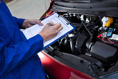 Chapmans Auto Centres - Standard car service with brake safety check, filter change and more   - Save 85%