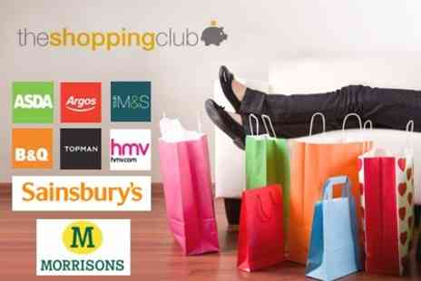 The Shopping Club - One Year Membership to The Shopping Club for £10 - Save 67%