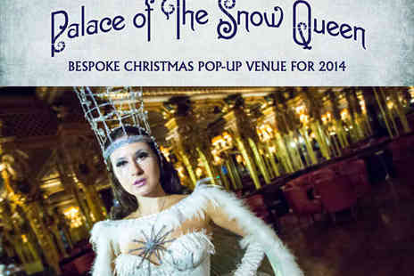 Bold Street Sweets - Ticket to Palace of The Snow Queen with Prosecco on Arrival and Canapes and Bowl Food - Save 44%