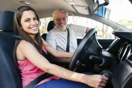 You drive school of motoring - Three Sessions of One Hour Driving Lesson - Save 84%