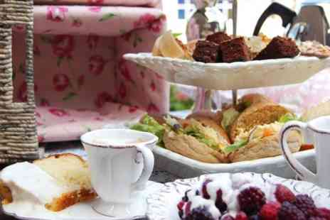 The Whitehall Hotel - Afternoon Tea With Mulled Wine or Fizz For Two - Save 64%