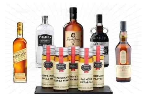 Flaviar - Gift Set of Five Whiskies, Rums, or Gins  - Save 59%