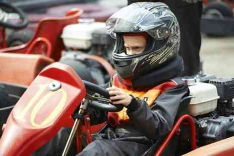 karting 2000 - Fifty or Eighty  Laps with Lap Timing Option for Competitive Racing - Save 0%