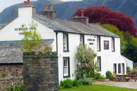 The Screes Inn - One Night Stay For Two With Breakfast and 1 Dinner  - Save 49%
