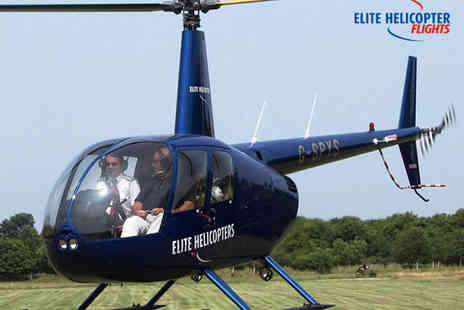 Elite Helicopter Flights - Helicopter Buzz Flight Helicopter Experience - Save 0%