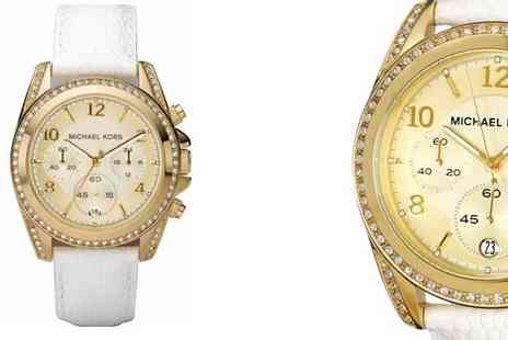 Stagwatches - Michael Kors Goldtone Womens Watch - Save 51%