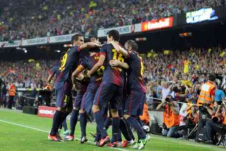 Top Tourisme - Two night stay in Barcelona Football Match Ticket and Accommodation - Save 19%