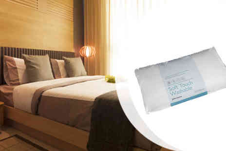 Move It Online - Pair of Either Microfibre or Duck Feather Pillows - Save 50%