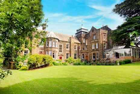 Makeney Hall Hotel  - Derbyshire Victorian Country Mansion Stay with Meals - Save 62%