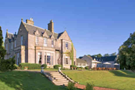 Hand Picked Hotels - Edinburgh Country House Escape with a Three Course Meal and Wine  - Save 33%