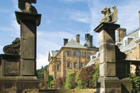 Hand Picked Hotels -  One Night Yorkshire Moors Dining Getaway for Two at Crathorne Hall - Save 38%
