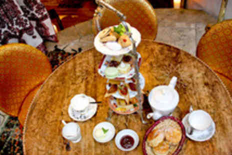 Momo - Moroccan Afternoon Tea for Two with Champagne or Special Mint Cocktail - Save 45%
