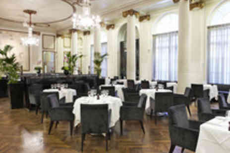 The Waldorf Hilton - Champagne Dining for Two  - Save 44%