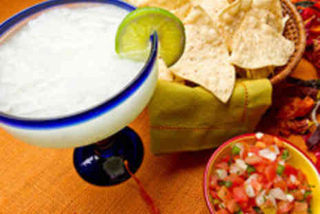 Nachos Mexican Restaurant - Two Course Mexican Meal with Margaritas for Two  - Save 41%