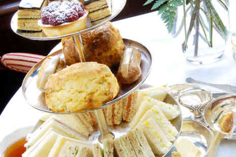 The Vintage Powder Room and Tea Shop - Vintage Inspired Afternoon Tea with Welcome Drink on Arrival and Manicure for Two - Save 56%