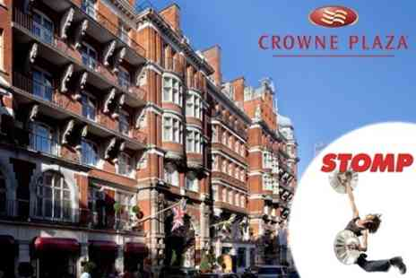 Crowne Plaza London St James Hotel - One Night Stay With Two Course A La Carte Meal and STOMP Theatre Ticket - Save 54%