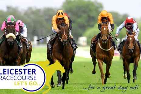 Leicester Racecourse -  Entry For Two Adults and up to Ten Children to Post Christmas Raceday - Save 44%