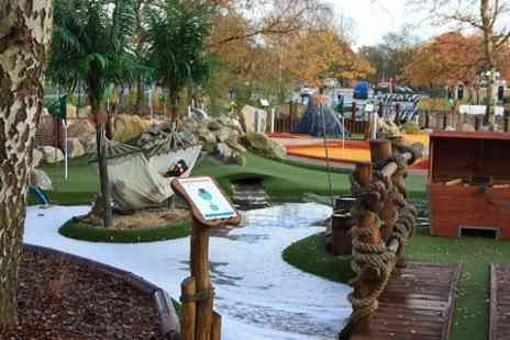 Rascal Bay - Mini Golf For Two  - Save 0%