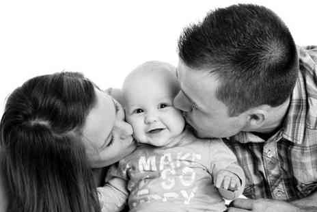 Alan Price Photography - Family Photoshoot With Prints and DVD Slideshow - Save 93%