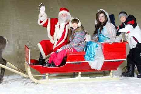 Snow Factor - Meet Santa on the Slopes at Snow Factor for One - Save 33%