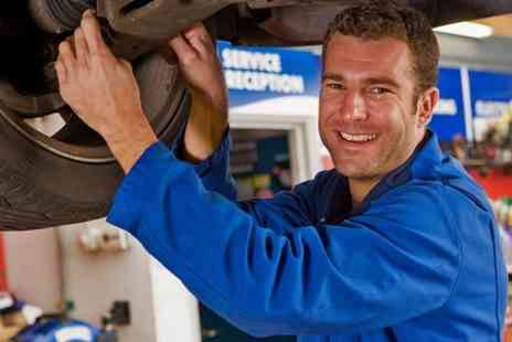 best tread tyres & auto centre - 55-Point Vehicle Service With Oil Change and Antifreeze Top Up  - Save 0%