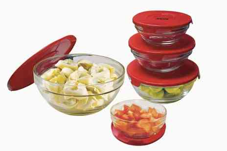 Sconto Deal - Set of 5 Glass Bowls - Save 0%