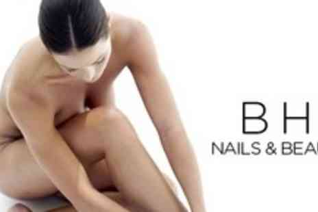 B H Nails & Beauty - Six Sessions of IPL Hair Removal on Two Small or Two Large Areas - Save 81%