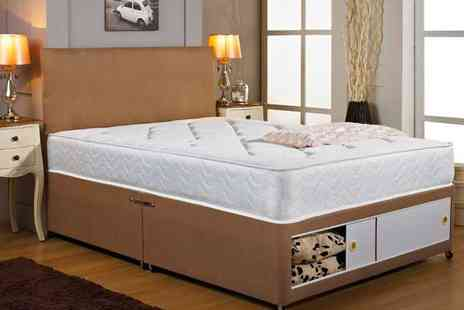 Einfeld - Divan Bed & Mattress with Optional Extras - Save 81%