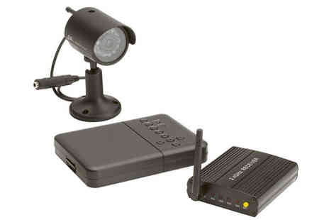 eCom Group - Friedland Wireless Colour Camera Recordable CCTV Kit - Save 50%