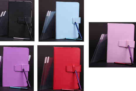 simplyproductsuk - Universal Faux Leather Tablet Case - Save 81%