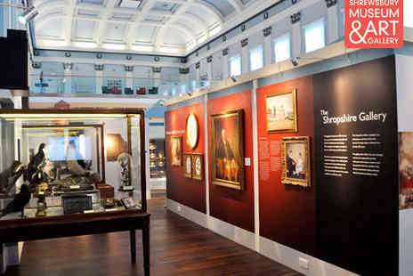 Shrewsbury Museum - Shrewsbury Museum & Art Gallery Entry for Two Adults - Save 50%