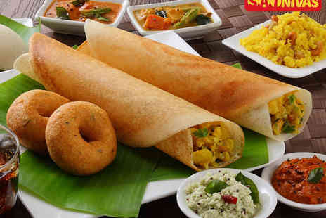 Sai Nivas Restaurant - Starter, Main Course, and Rice Dish Each for Two - Save 51%