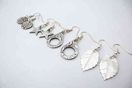 Silver and Stone Jewellery Design - Earring Making Workshop for One  - Save 61%