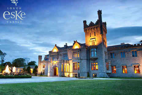 Lough Eske Castle Hotel - Overnight County Donegal Stay for Two with Breakfast - Save 0%