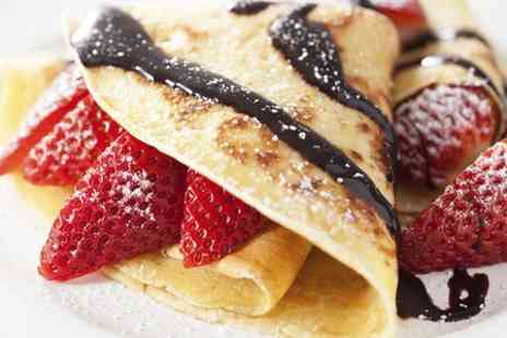 Samba Swirl - Crepe With Hot Drink for One  - Save 52%