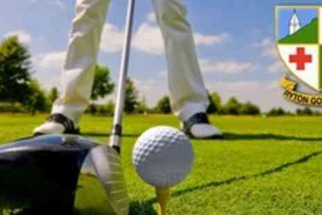 Ryton Golf Club - Full Day of Golf on 18 Hole Course For Four - Save 70%