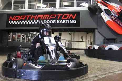 Northampton Indoor Karting -  Entry  to  Indoor Karting Grand Prix Tournament - Save 50%