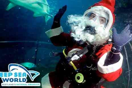 Deep Sea World - Family Christmas Party With Kids Present and Goody Box - Save 67%