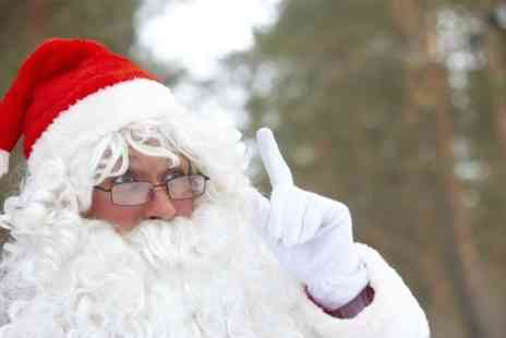 Woodborough Garden Centre - Entry of Meet Santa and His Animal Helpers For One  - Save 0%