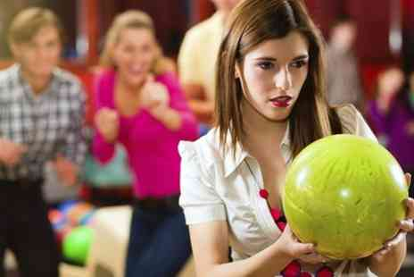 M&Ds - Bowling and Draught Soft Drinks For Four  - Save 51%