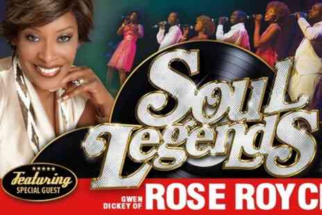 Entertainers Management - Ticket to Soul Legends - Save 38%
