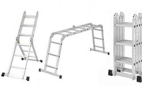 Delizius Deluxe - 4 in 1 Multi Position Ladder - Save 40%