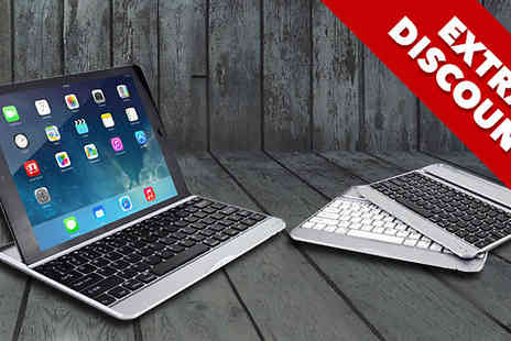 Zip Gadgets - Bluetooth Keyboard Case for iPad - Save 79%