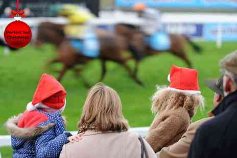 Sandown Racecourse - Entry for One adult and up to Three children to the Tingle Creek Christmas Festival  - Save 40%