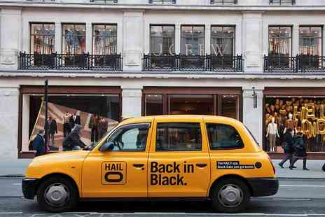 Hailo -  £15 credit towards a taxi journey - Save 67%