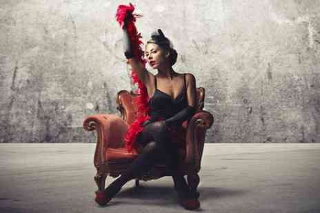Madame Peaches -  Two hour burlesque lessons  for Two  - Save 80%